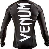 Venum Herren Training Rashguard Giant langen Ärmeln, Black, M, EU-VENUM-0208 - 5