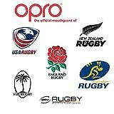 OPRO Mundschutz Silver Junior - Kinder Zahnschutz- für Handball, Rugby, Karate, Hockey, MMA, Boxen - selbst anformbar - mit Zahngarantie von bis zu 7.500 € - im UK entworfen & hergestellt (Weiß/Schwarz) - 4