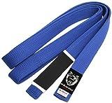 Okami Fight Gear Obi-Gürtel für Gi-Kimono, brasilianisches Jiu Jitsu Blau blau 300 cm